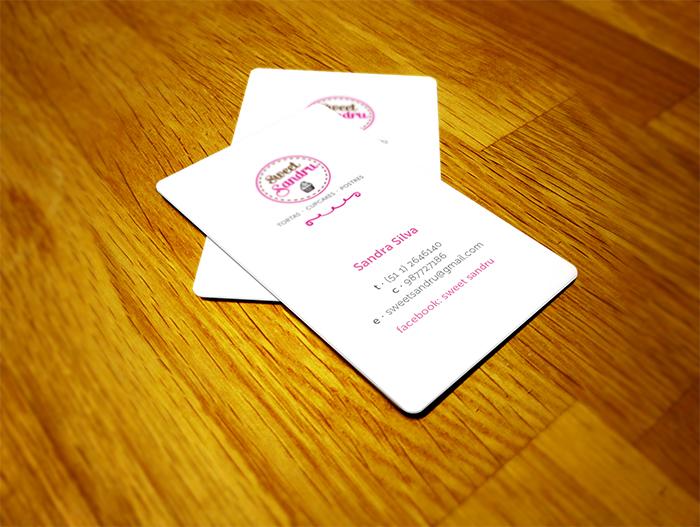 Sweet Sandru Business Cards