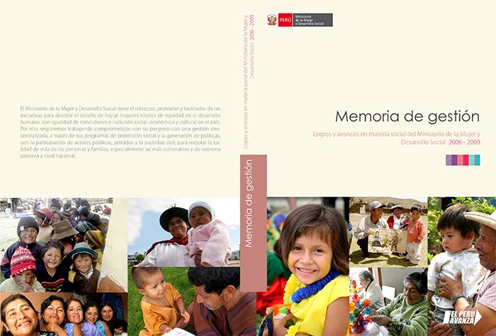Memoria Ministerio de la Mujer y Desarrollo Social